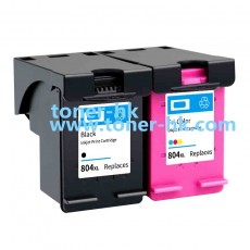 804XL BK/C代用墨盒一套2個