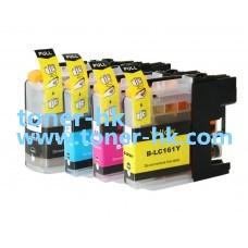 LC161 BK/C/M/Y 代用墨盒一套四色