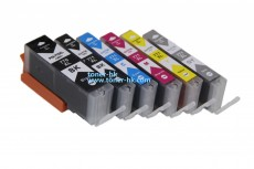 770XL/771XL K/C/M/Y/GY代用墨盒5個